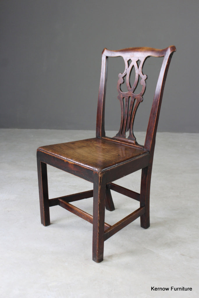 Georgian Elm Hall Chair