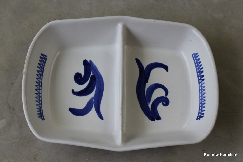 Buchan Portobello Divided Dish - Kernow Furniture