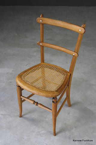 Early 20th Century Cane Occasional Chair