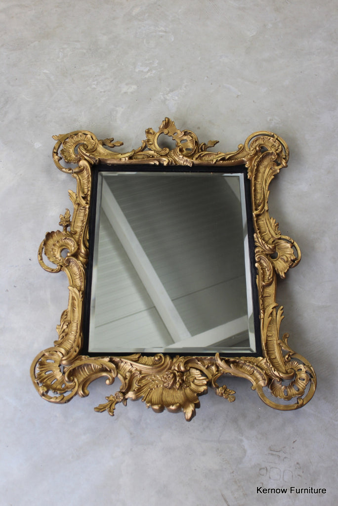 Ornate 19th Century Rococo Wall Mirror