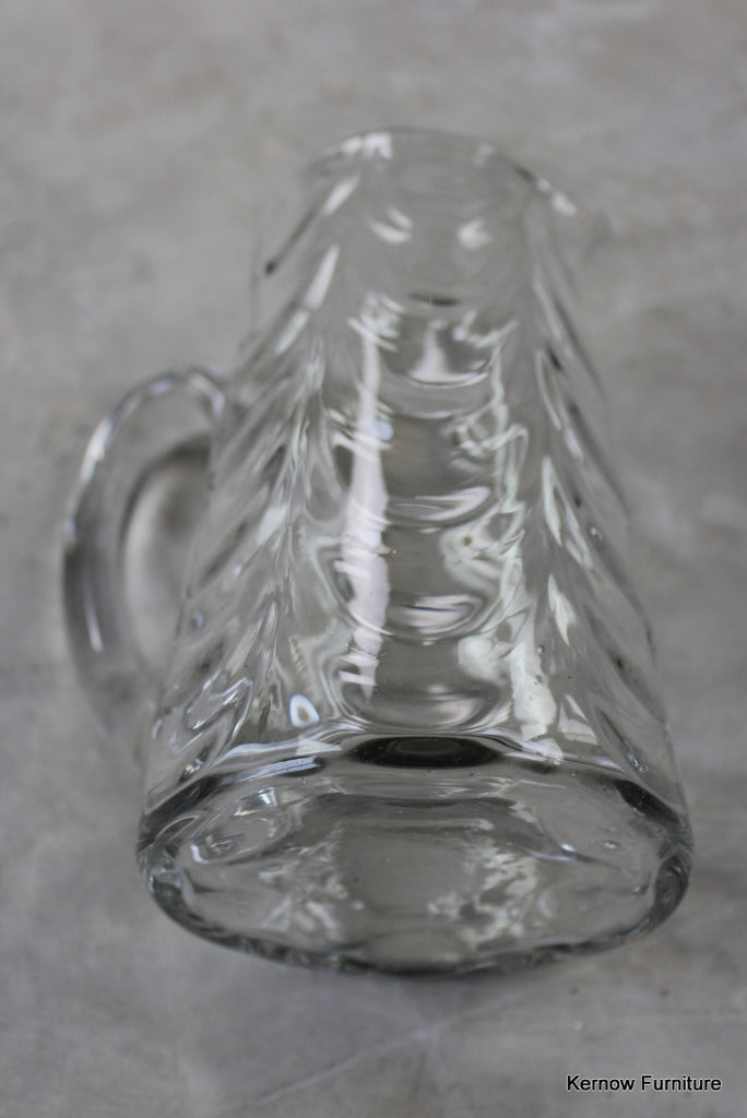 Antique Glass Water Jug - Kernow Furniture