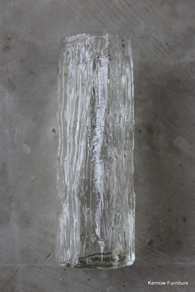 Ravenhead Clear Glass Textured Vase