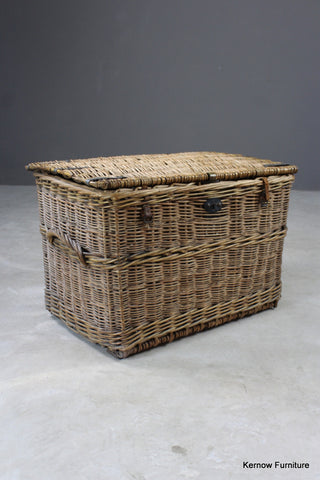 Large Antique Willow Basket
