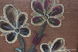 Antique Rosewood Beaded Tapestry Prie Dieu - vintage retro and antique furniture