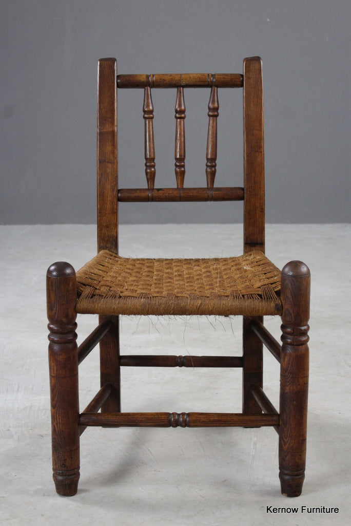 Elm Country Kitchen Chair - Kernow Furniture