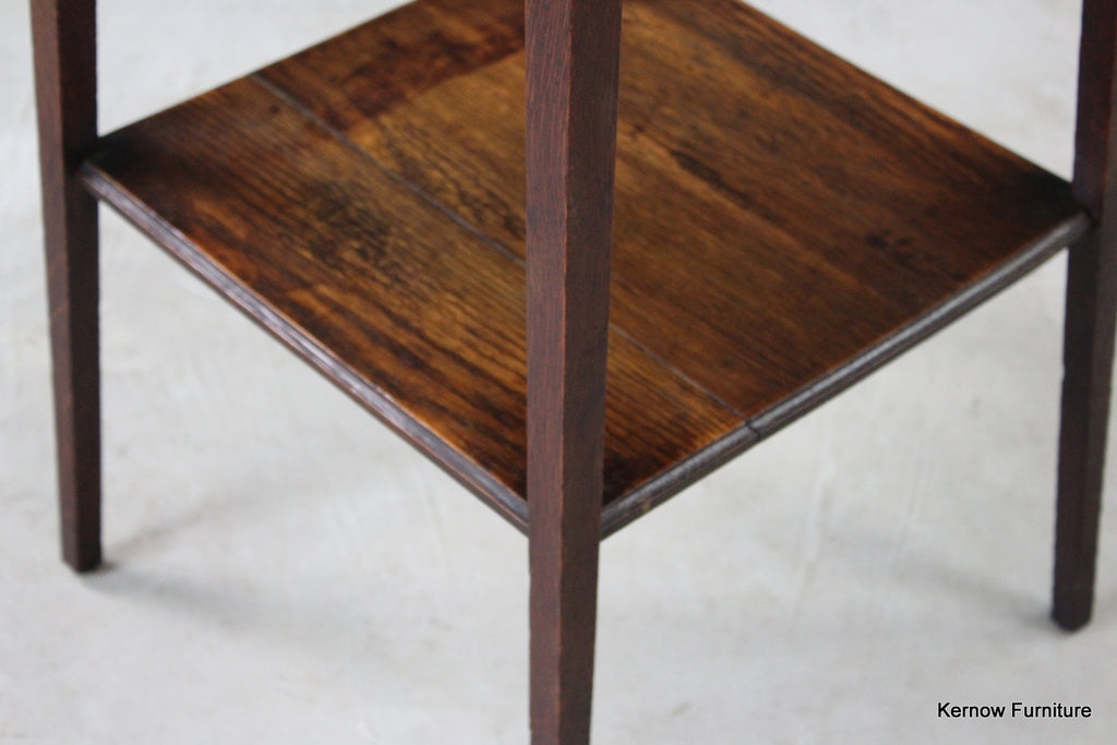 Arts & Crafts Oak Side Table - Kernow Furniture