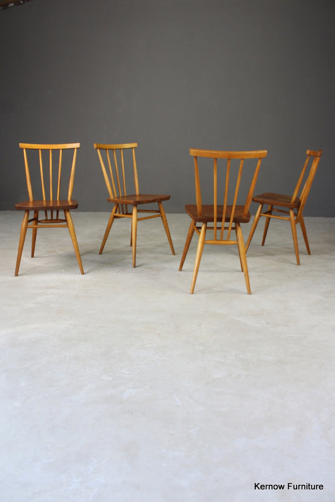 4 Ercol All Purpose Dining Chairs