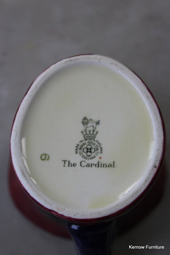Royal Doulton The Cardianal Character Jug - Kernow Furniture