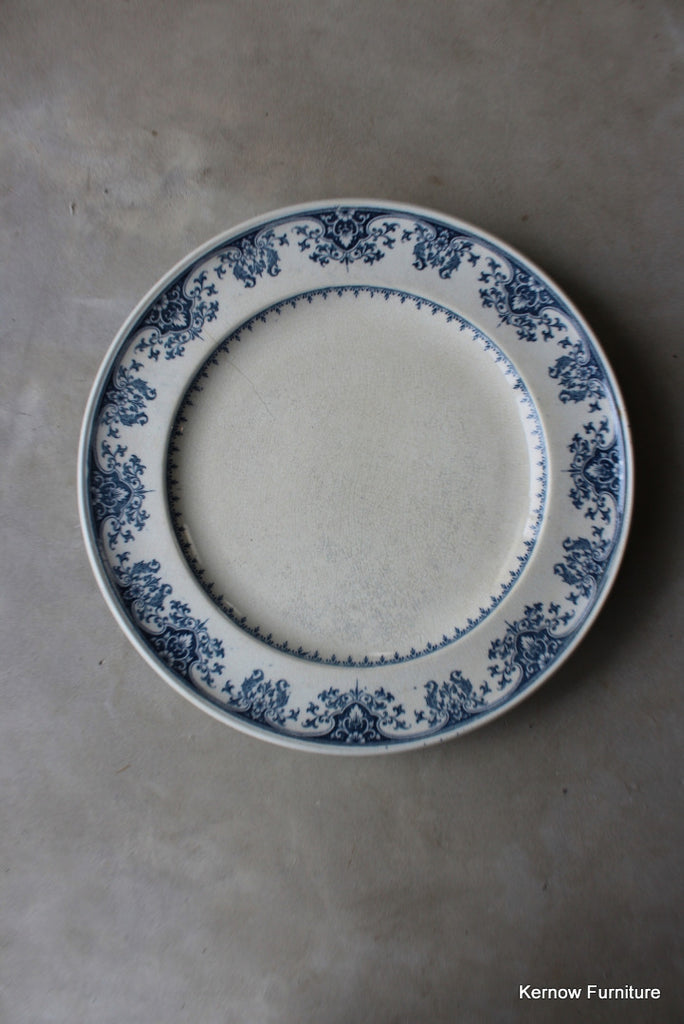 Minton Blue & White Salad Plate - Kernow Furniture