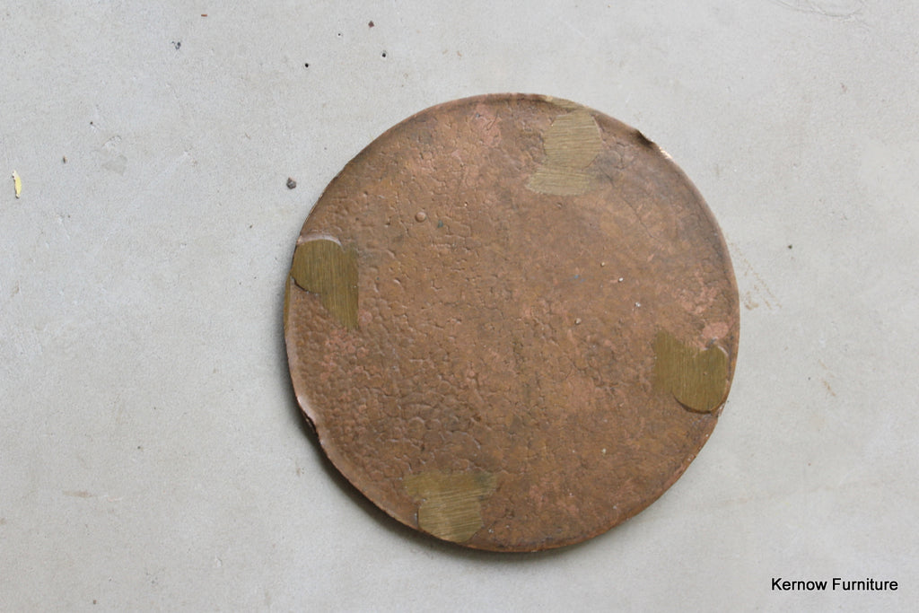 Antique Bronze Cast Medallion - Kernow Furniture