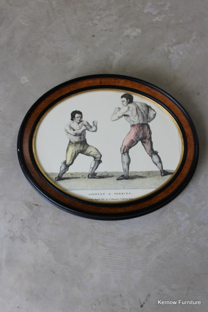 Johnson & Perrins Boxing Print
