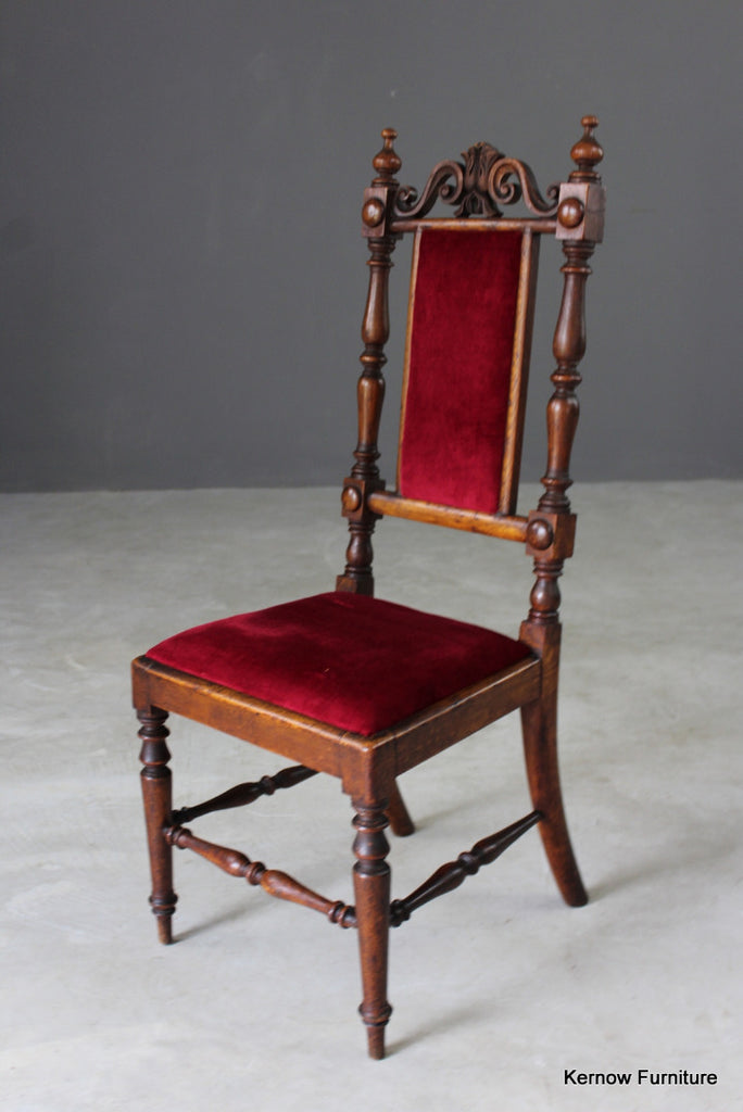 Antique Victorian Childs Chair - Kernow Furniture