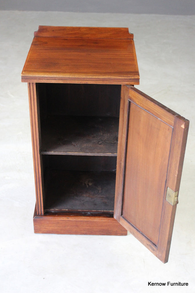 Edwardian Mahogany Pot Cupboard - Kernow Furniture