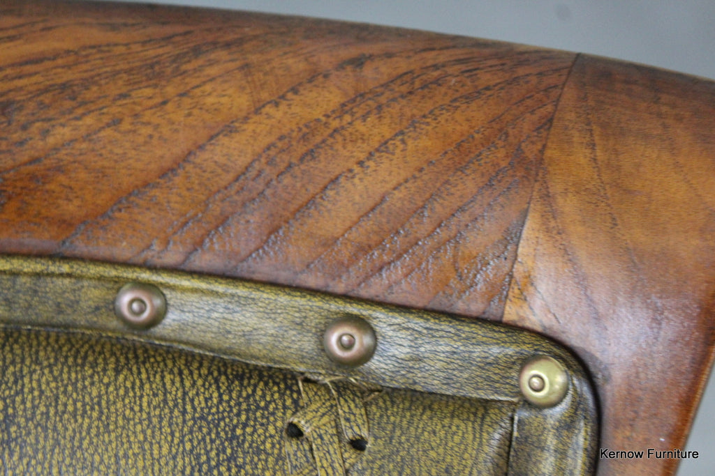 Leather Office Chair - Kernow Furniture