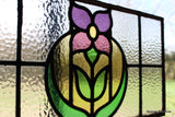 Single Stained Glass Panel
