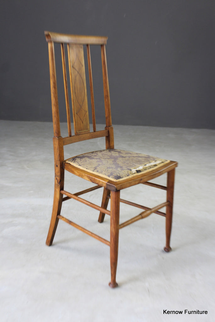 Inlaid Occasional Chair - Kernow Furniture