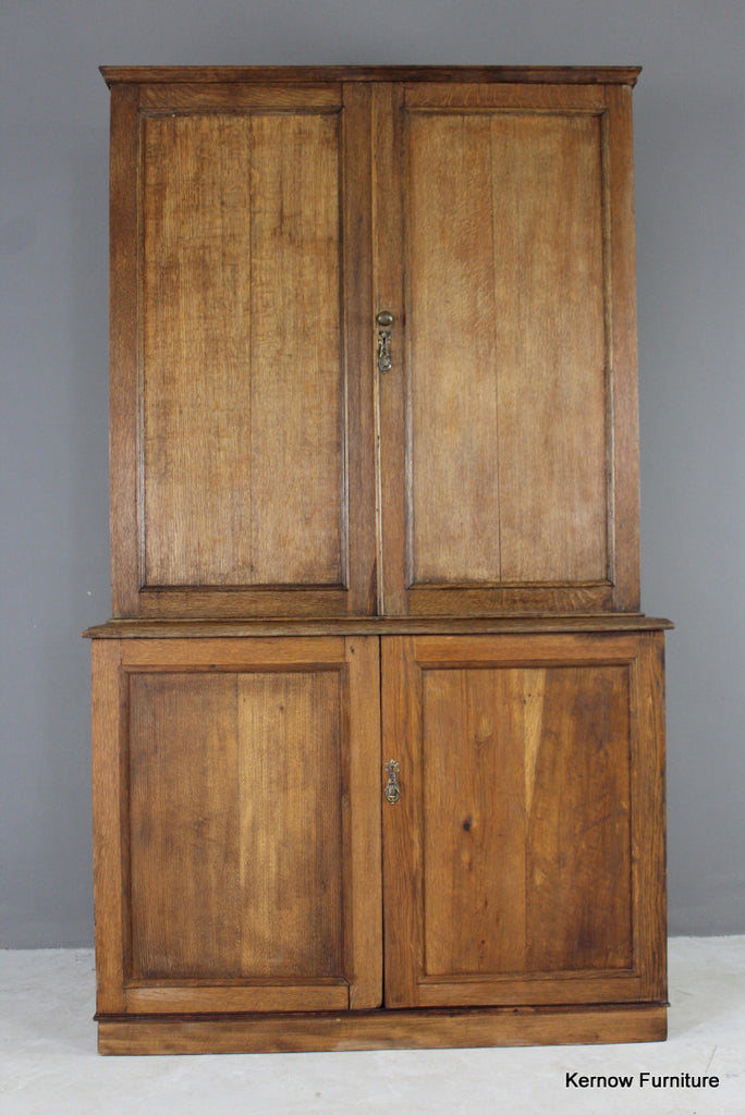 Early 20th Century Oak Cupboard - Kernow Furniture