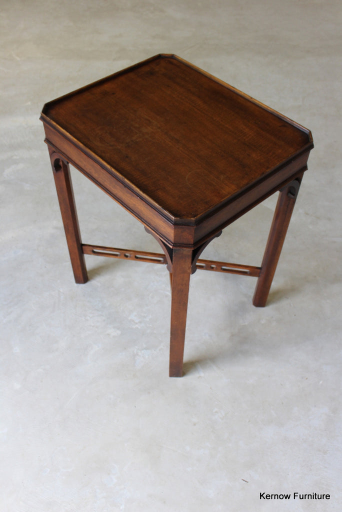 Reproduction Mahogany Silver Table