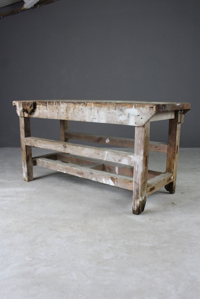 Rustic Pine Workbench