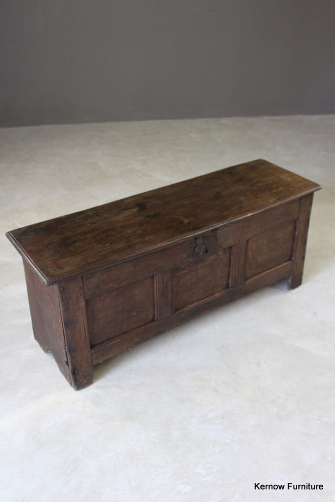 Antique Oak Coffer - Kernow Furniture
