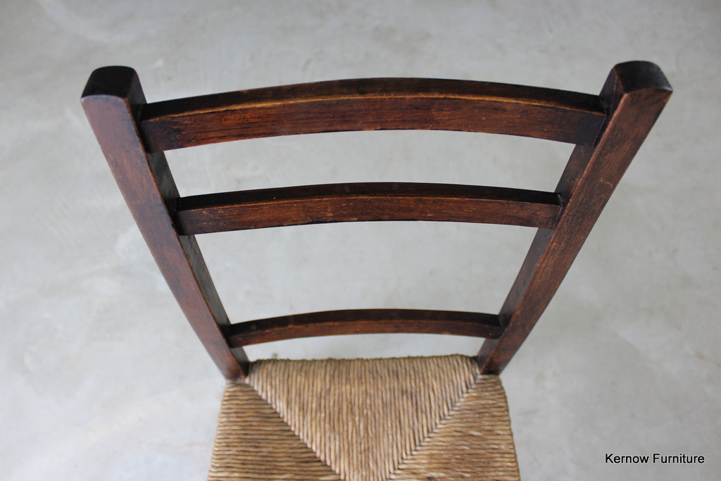 Single Country Rush Chair - Kernow Furniture