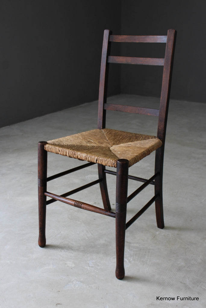Single Country Rush Chair