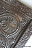 Pair Antique Carved Panelled Doors