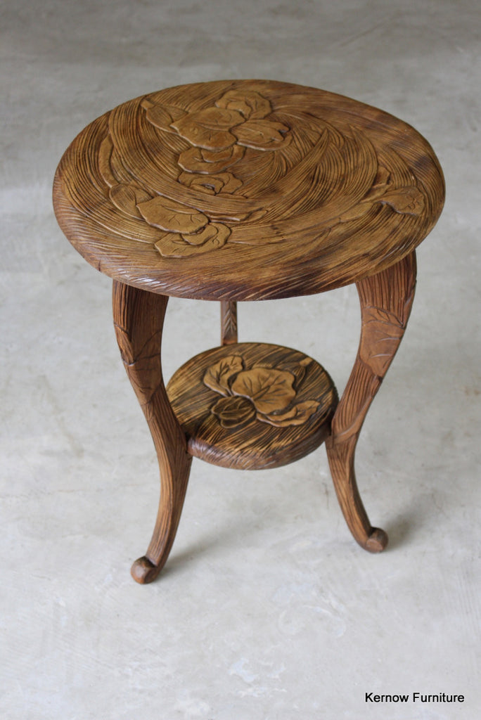Japanese Side Table - Kernow Furniture
