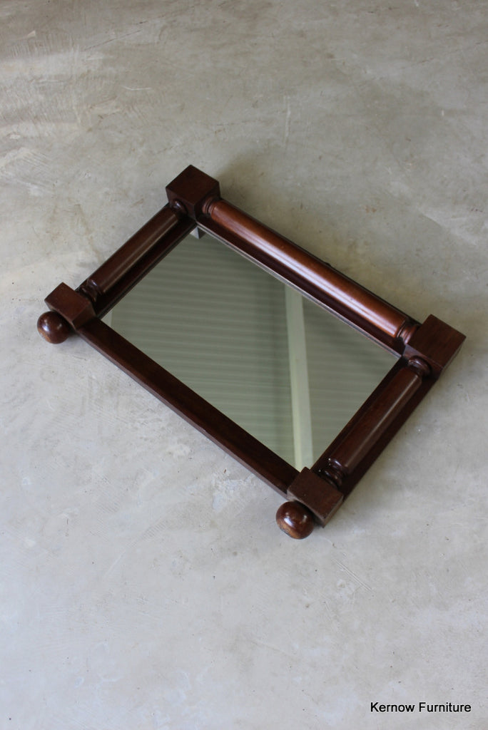 Victorian Mahogany Overmantle Mirror