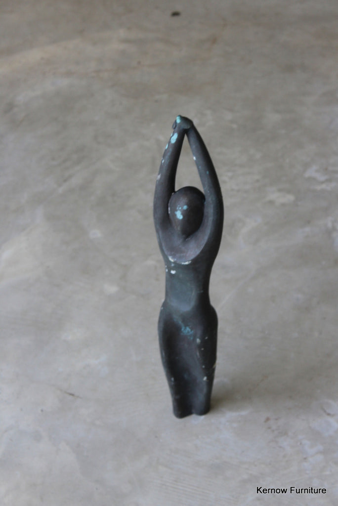Contemporary Bronze Female Form Sculpture - Kernow Furniture