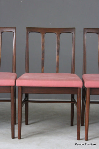 6 Younger Teak Dining Chairs - vintage retro and antique furniture