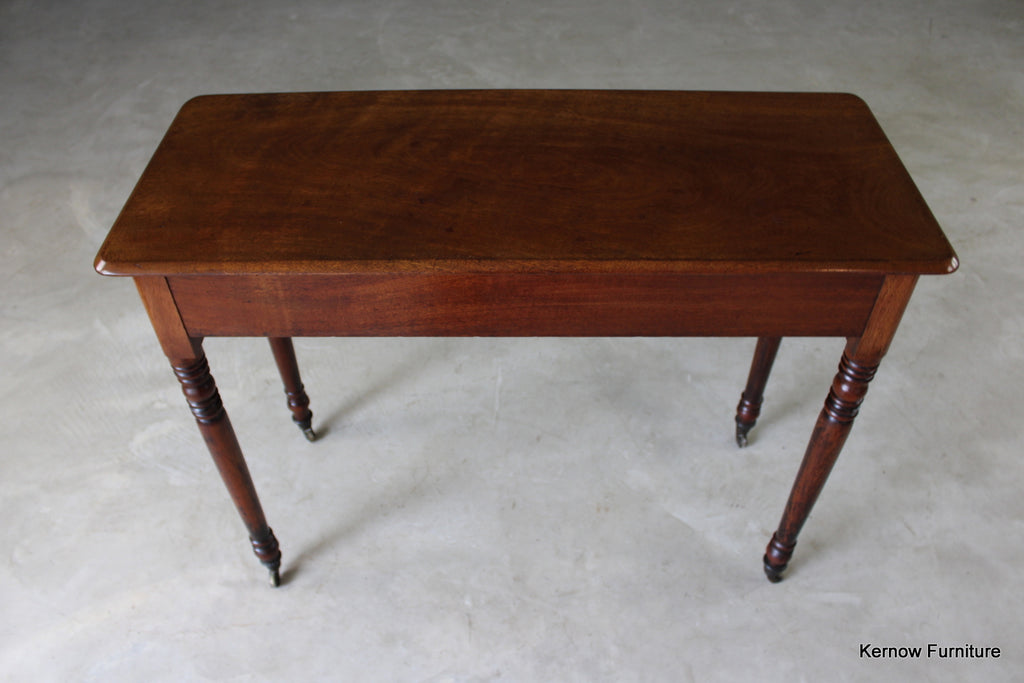 Victorian Mahogany Side Table - Kernow Furniture