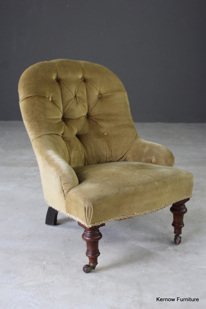 Small Victorian Nursing Chair