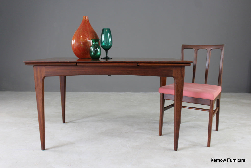 Mid Century A Younger Teak Extending Dining Table