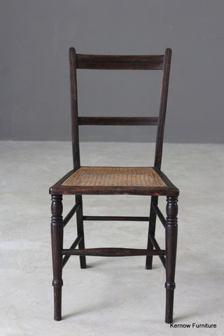 Single Cane Occasional Chair