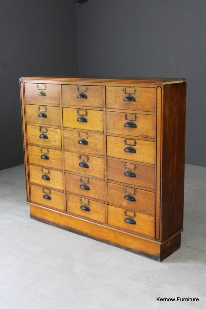 1940s Bank of Haberdashery Drawers - Kernow Furniture