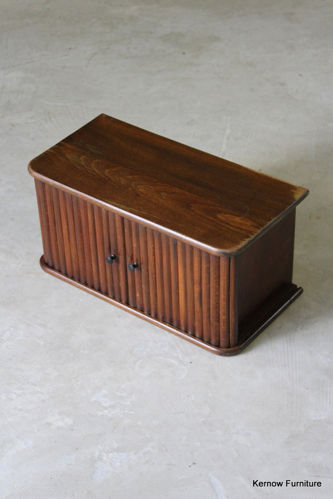 Small Tambour Cabinet - Kernow Furniture