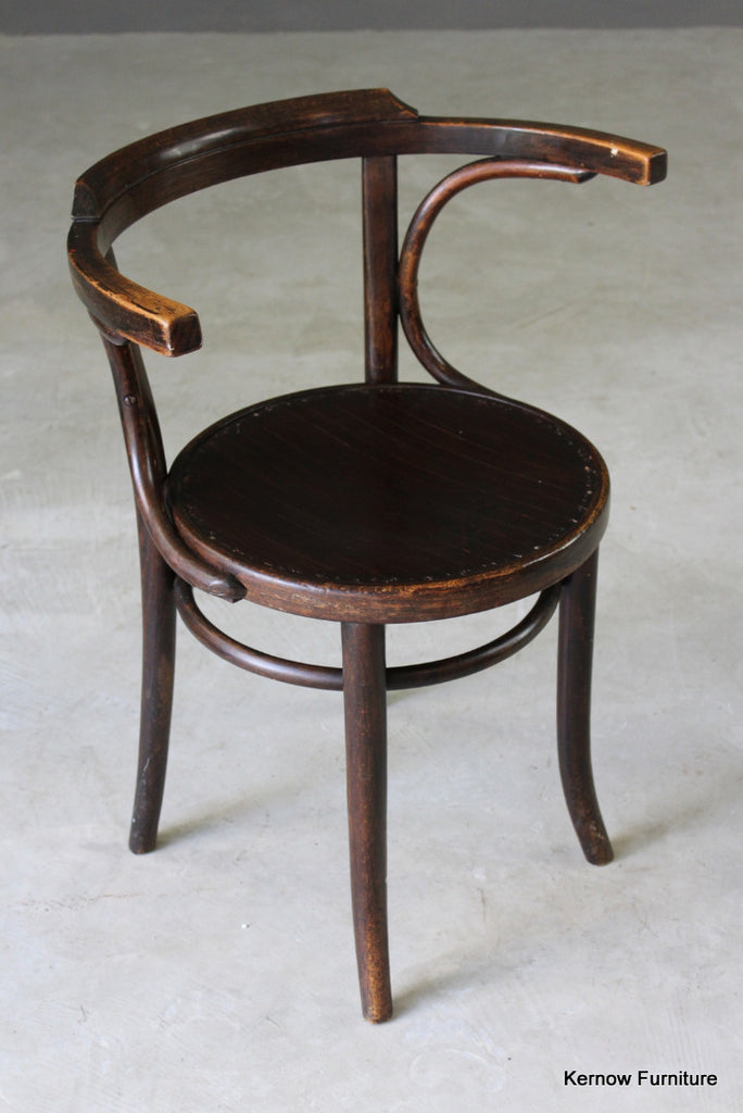 Bentwood Bistro Style Chair - vintage retro and antique furniture