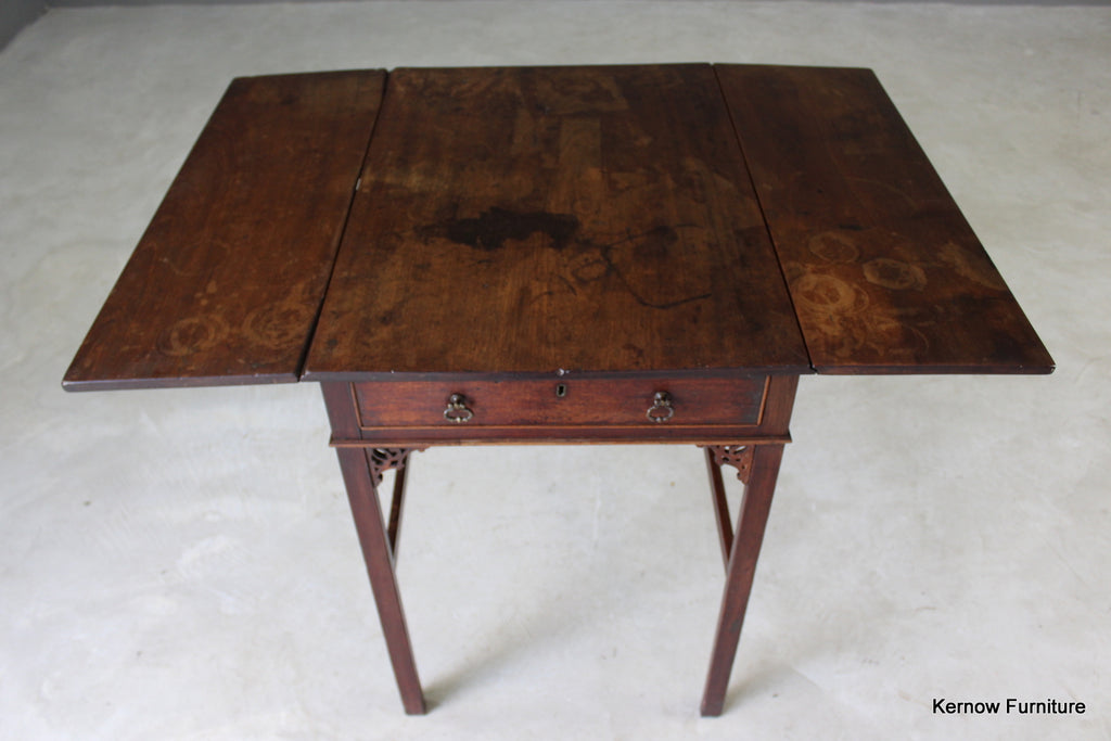 Chippendale Period Pembroke Table - Kernow Furniture