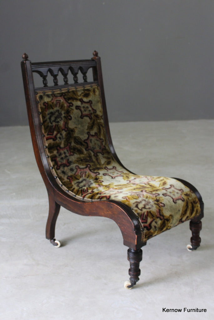 & Victorian Nursing Chair