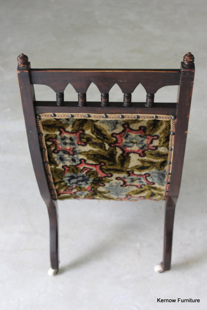 Victorian Nursing Chair - Kernow Furniture