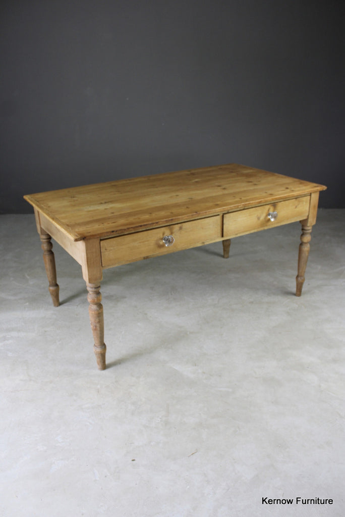 Antique Pine Table - vintage retro and antique furniture