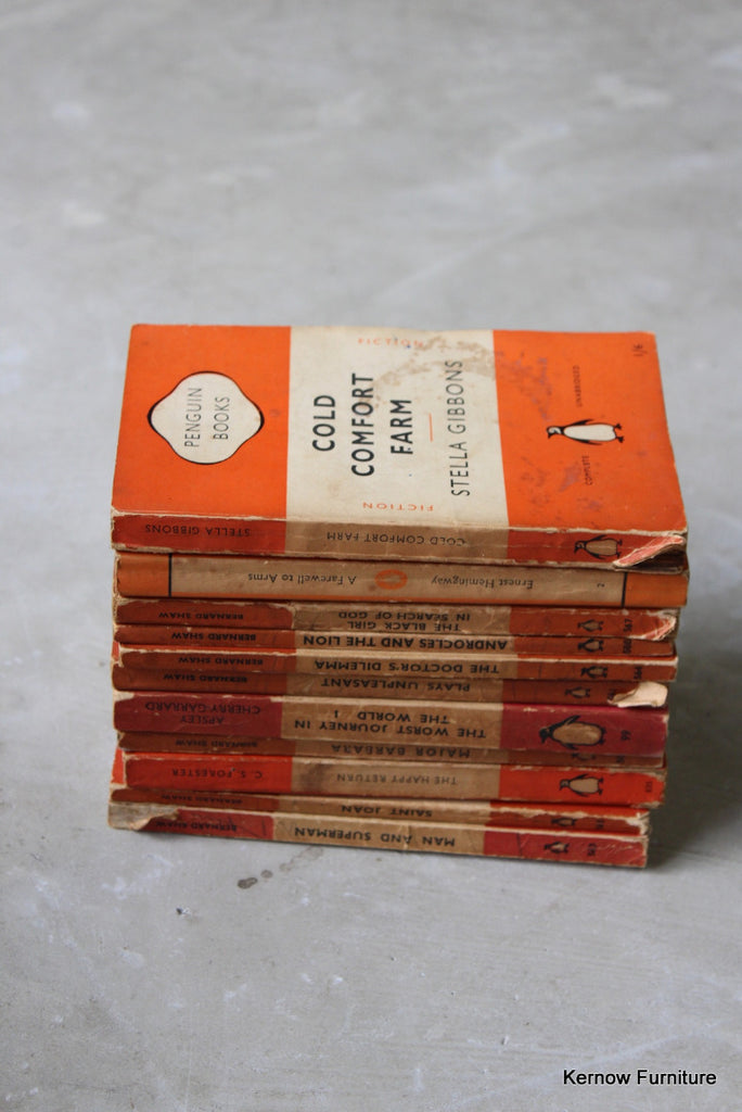 Collection Orange Penguin Books - Kernow Furniture