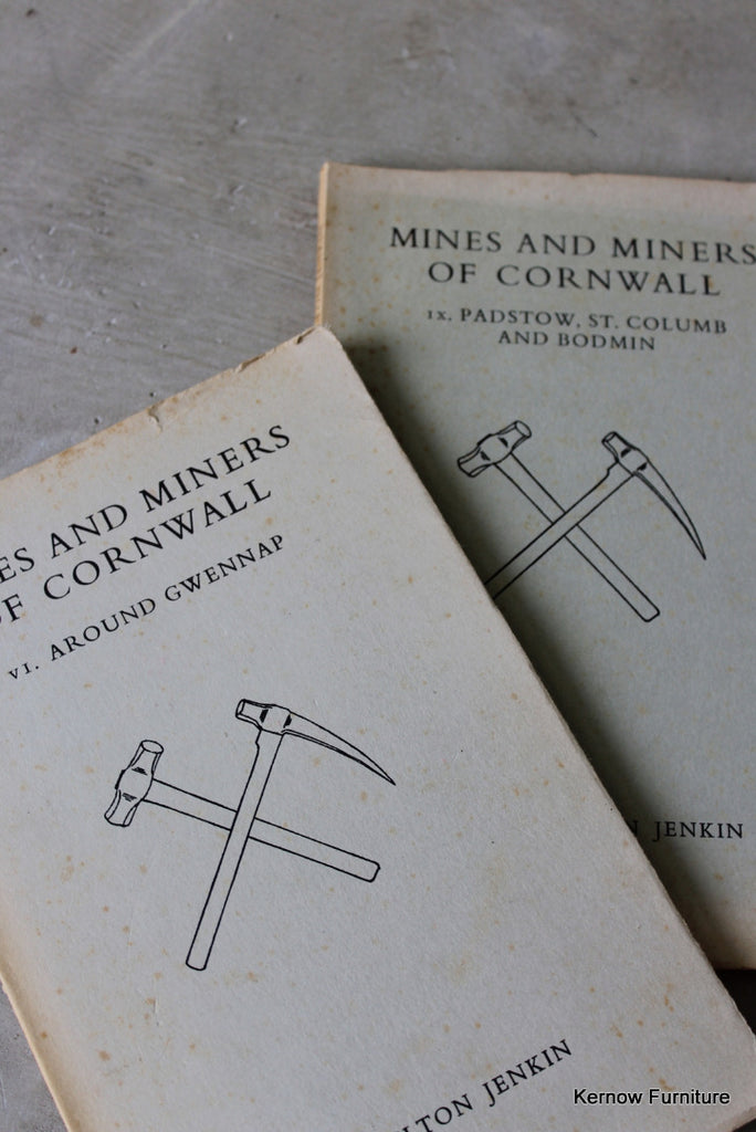 Mines & Miners of Cornwall - Kernow Furniture