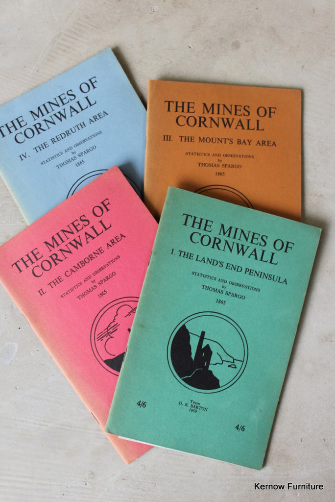 The Mines of Cornwall Thomas Spargo