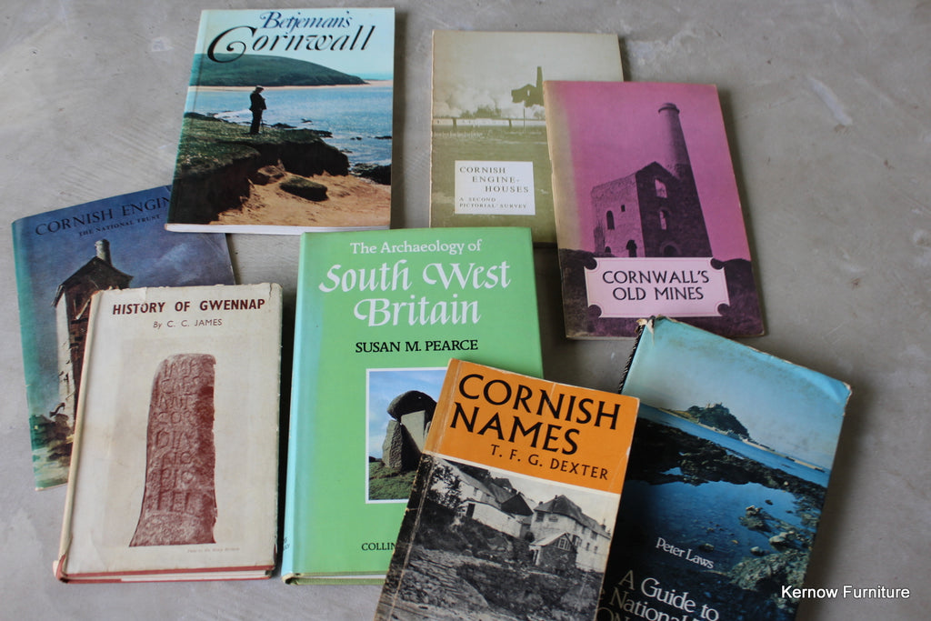 Assorted Cornwall Books - Kernow Furniture