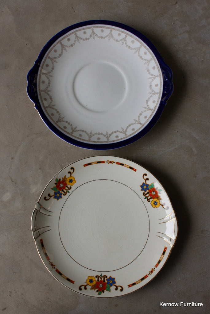 Vintage Serving Plates - Kernow Furniture