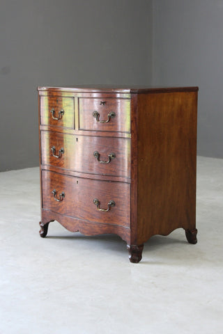 Georgian Style Serpentine Chest of Drawers