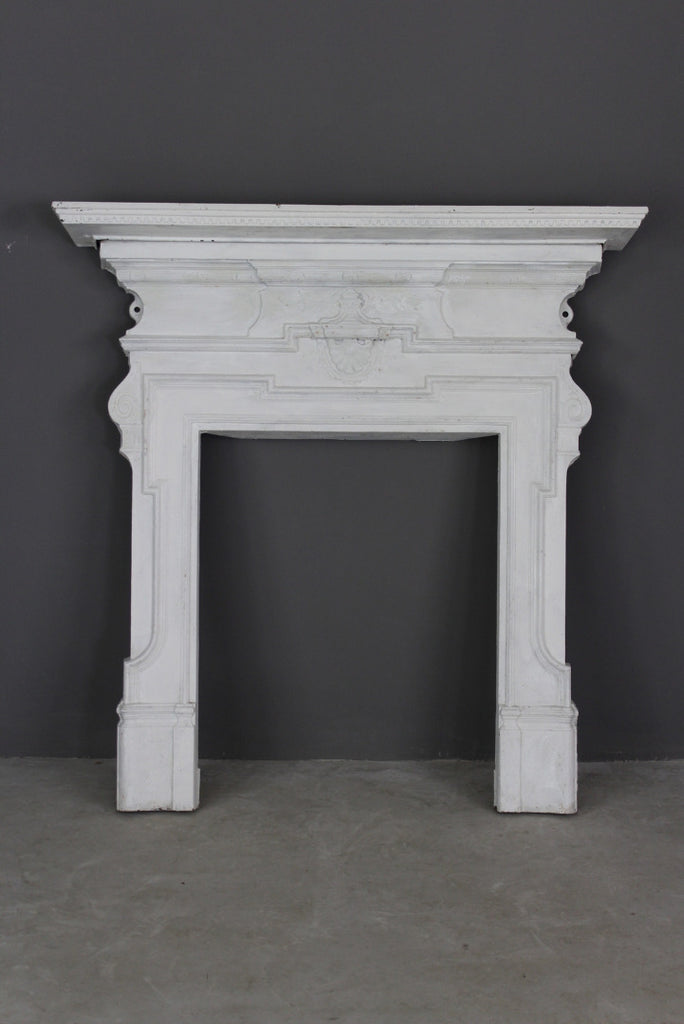 Victorian Cast Iron Fire Surround - Kernow Furniture