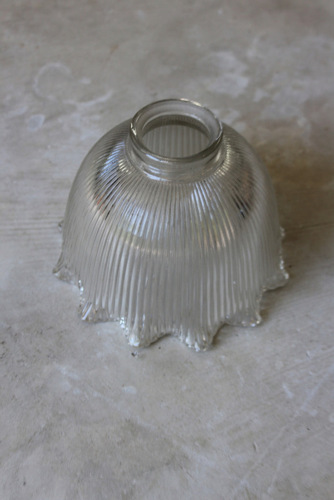 Ribbed Glass Lamp Shade